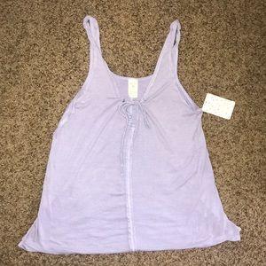 FREE PEOPLE Lilac tank top